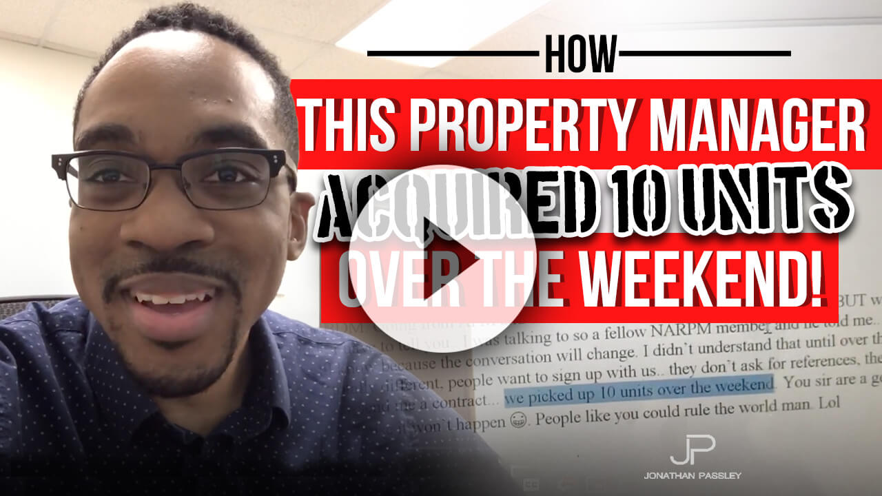 How this property manager got 10 units over the weekend